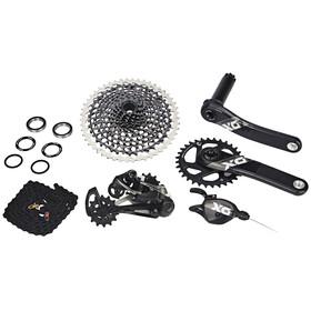 SRAM X01 Eagle - Piezas para bicicletas - 1x12s Boost GXP negro